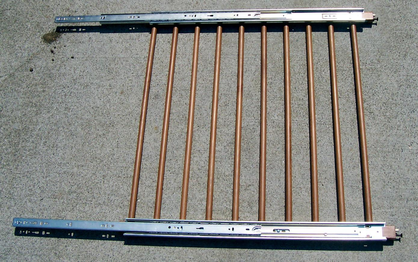 Picture of Attach the Drawer Glides to the Fixed Rail