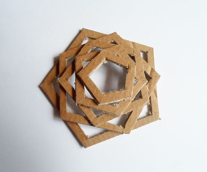 Picture of Compose the Pentagons