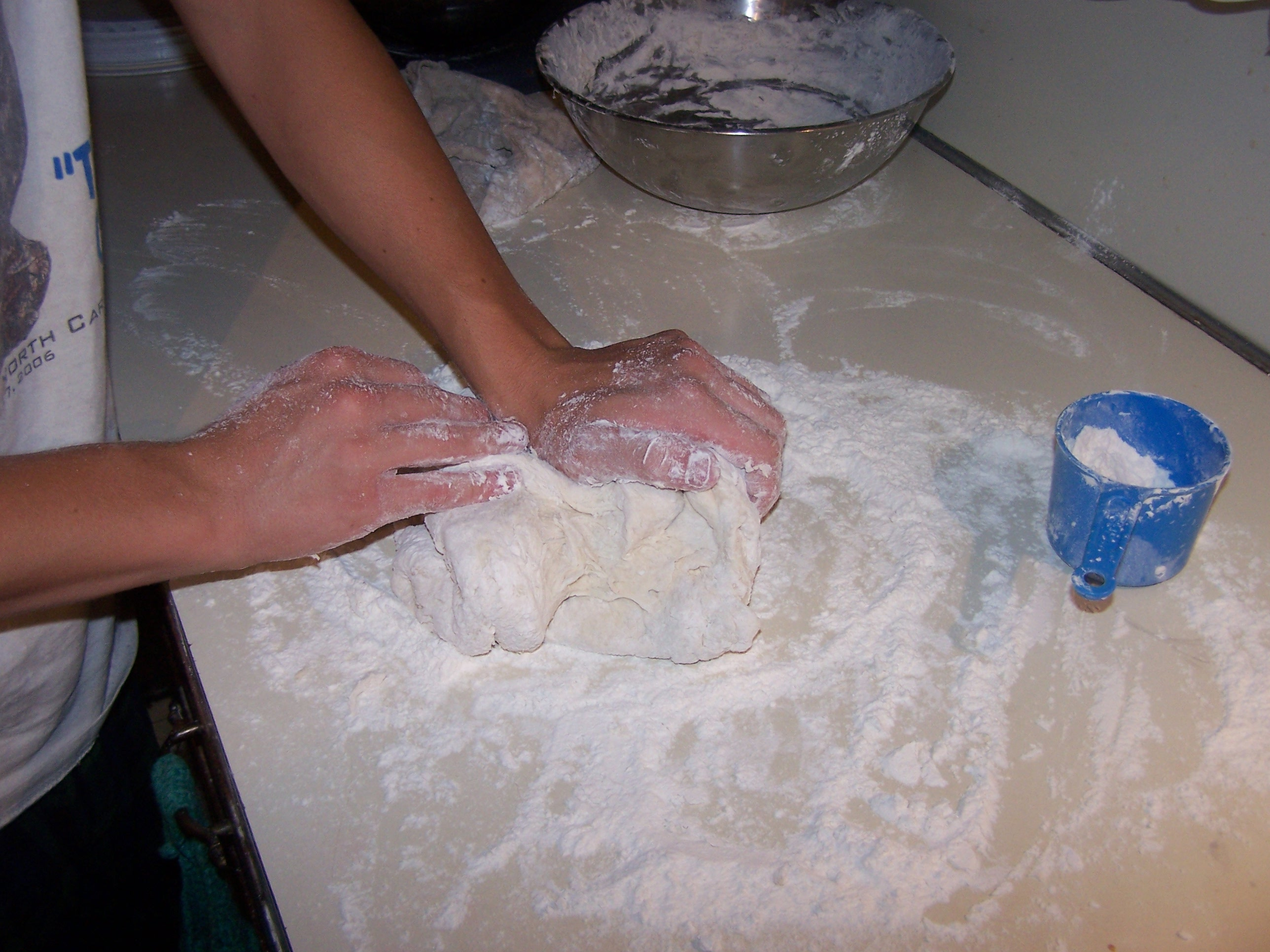 Picture of Add Some Flour and Knead It
