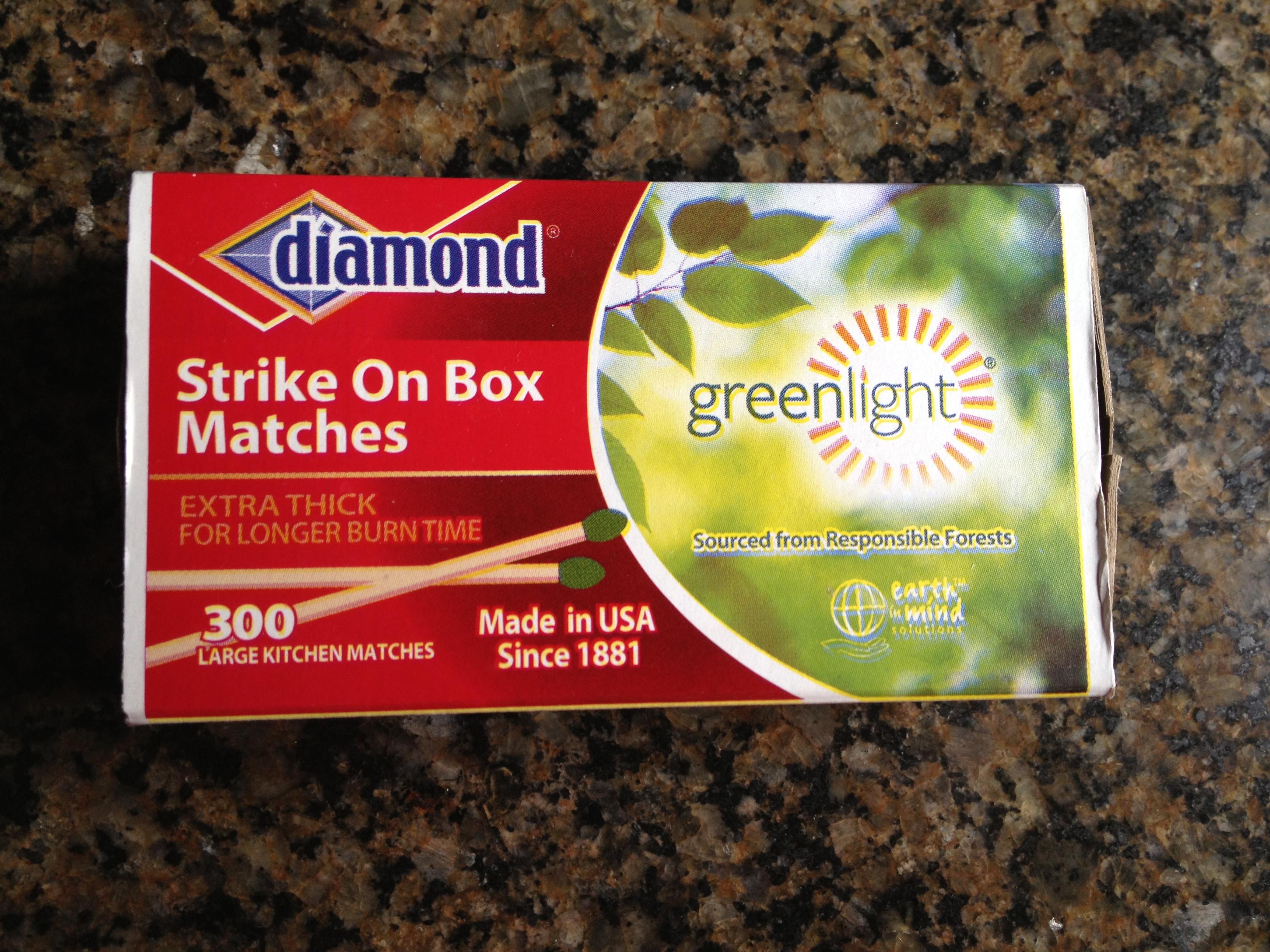 Picture of Match Box , Protective Secret Compartment
