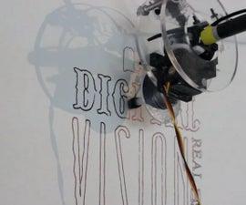 Large Scale Polargraph Drawing Machine W/ Retractable Pen Head