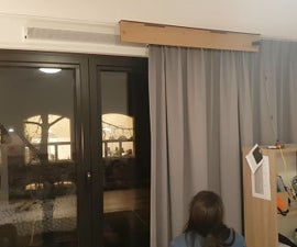TfCD Conductive Paint Curtain Controller