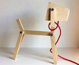 Make a Dog Lamp