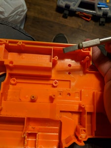 Separate the Shell Pieces (only Required If You Are Painting the Blaster)