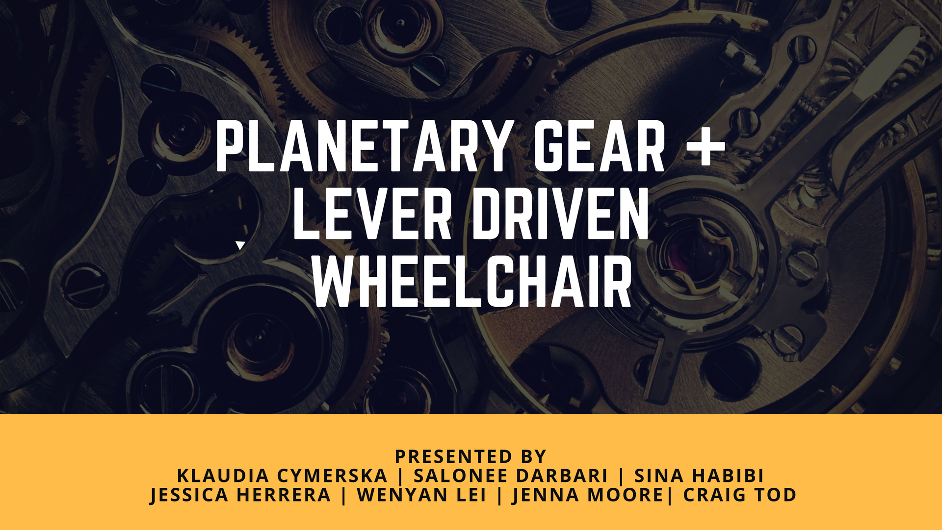 Picture of Planetary Gear + Lever Driven Wheelchair