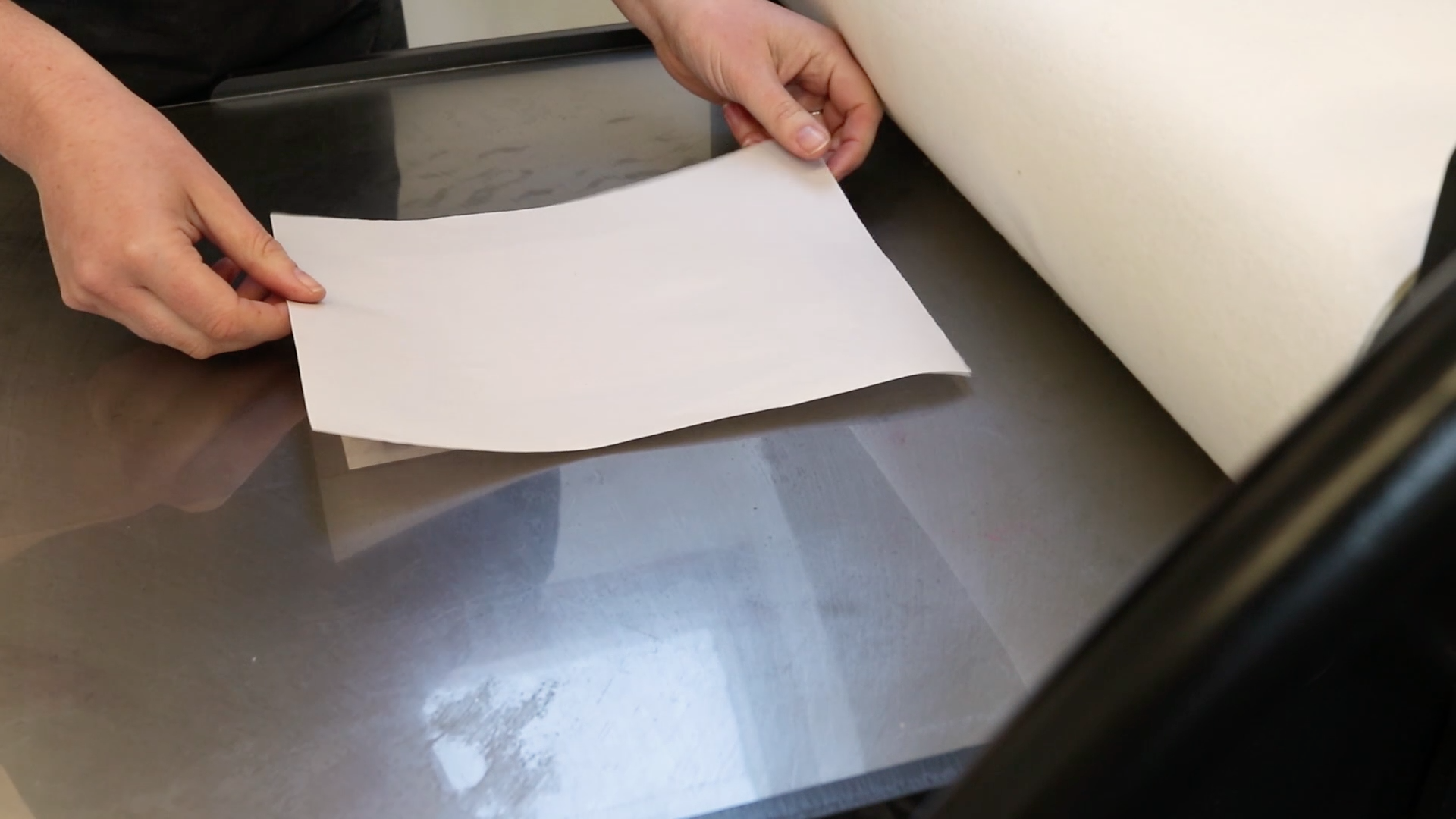 Picture of Printing the Plate