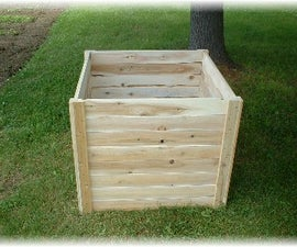 Making a compost box