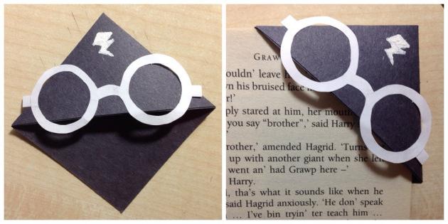 Picture of Harry Potter Corner Bookmark