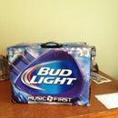 Customized Speaker Box- Bud Light