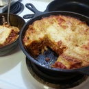 Easy Dutch Oven Lasagna