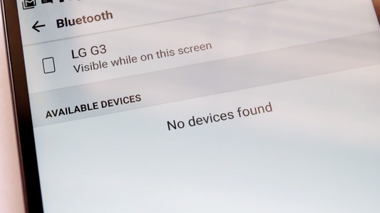 What's the Problem With Bluetooth ?