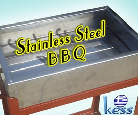 DIY Stainless Steel BBQ With Double Layer Bottom