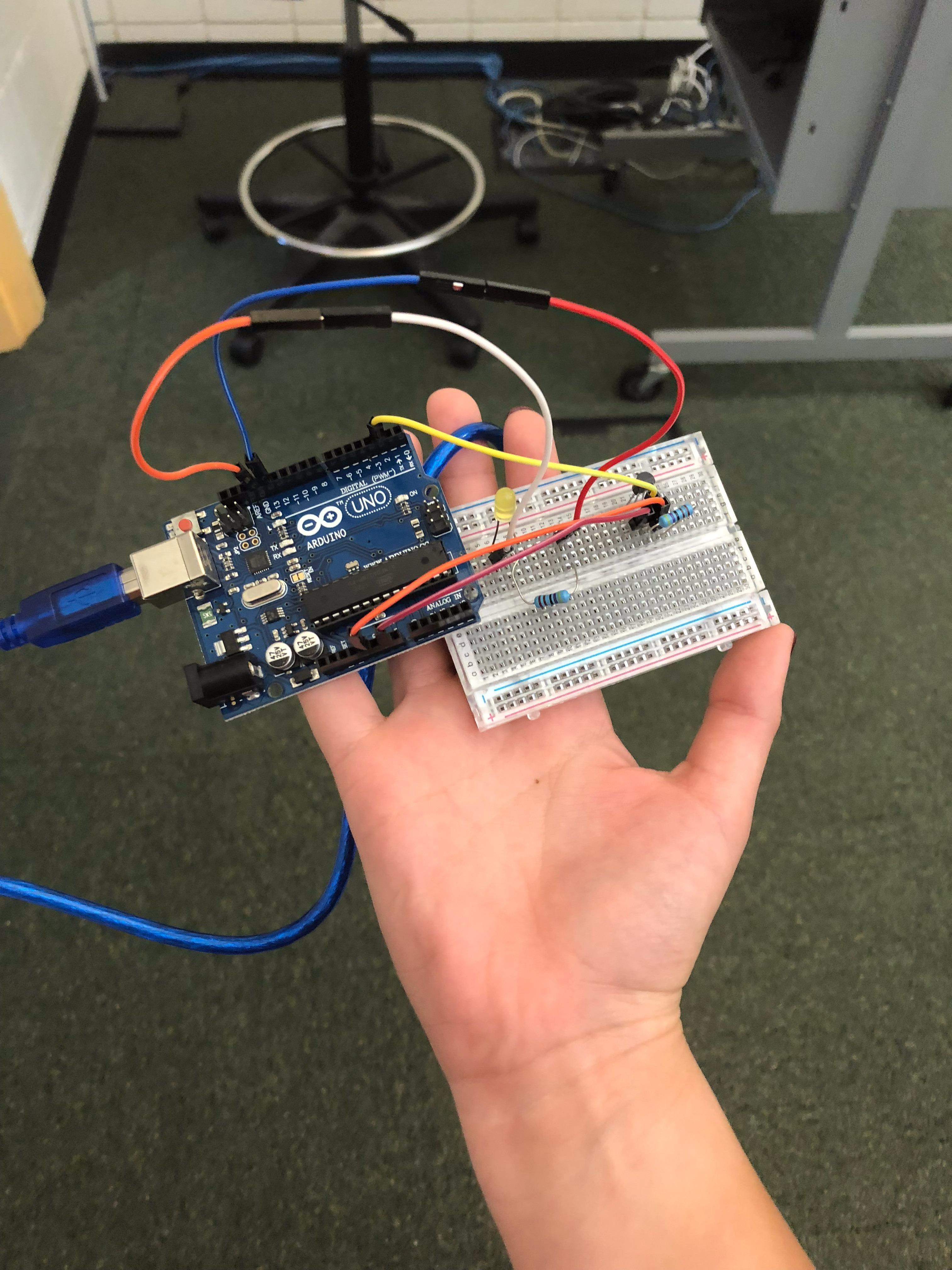 Picture of Temperature Sensor Using Arduino Uno