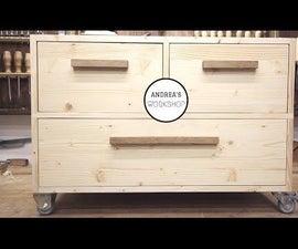 Rolling Storage Cabinet