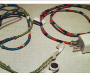 Wrap Your Cords in Embroidery Floss