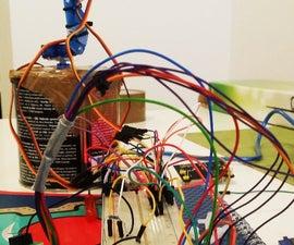 Cheap programmable Arduino robotic arm