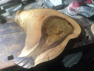 Stain the Slice of Wood