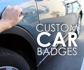 Custom Car Badges