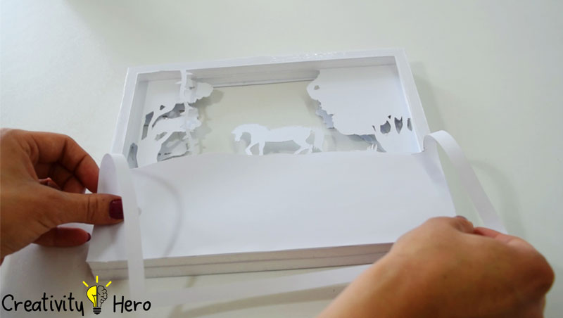 Picture of Reassemble the Layers and Glue Them Together.