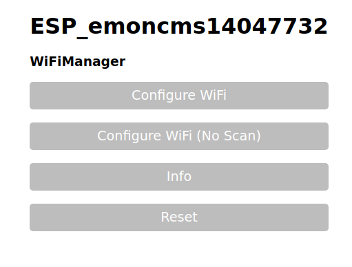 Picture of Introduction WifiManager + ESP8266