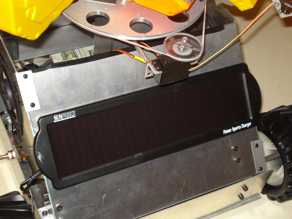 Picture of Adding the Solar Panel
