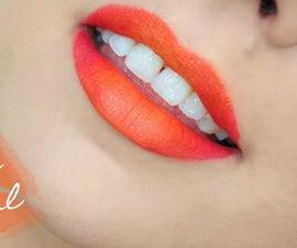 Orange Ombre Lip