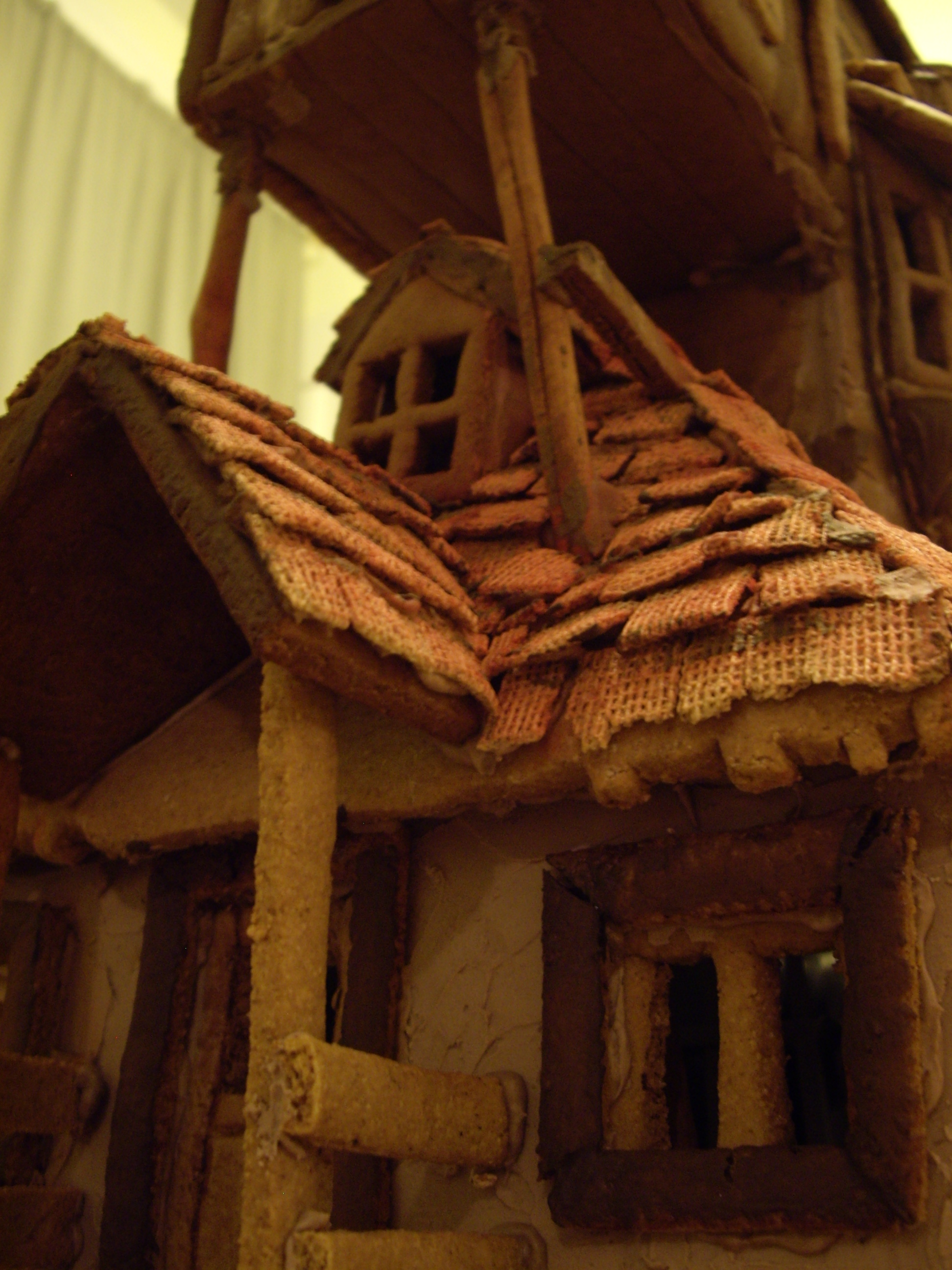 Picture of Harry Potter - the Weasley's Burrow Gingerbread House