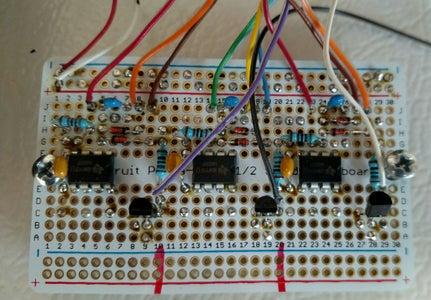 Step 3. Add Parts to Adafruit Perma-Proto PCB