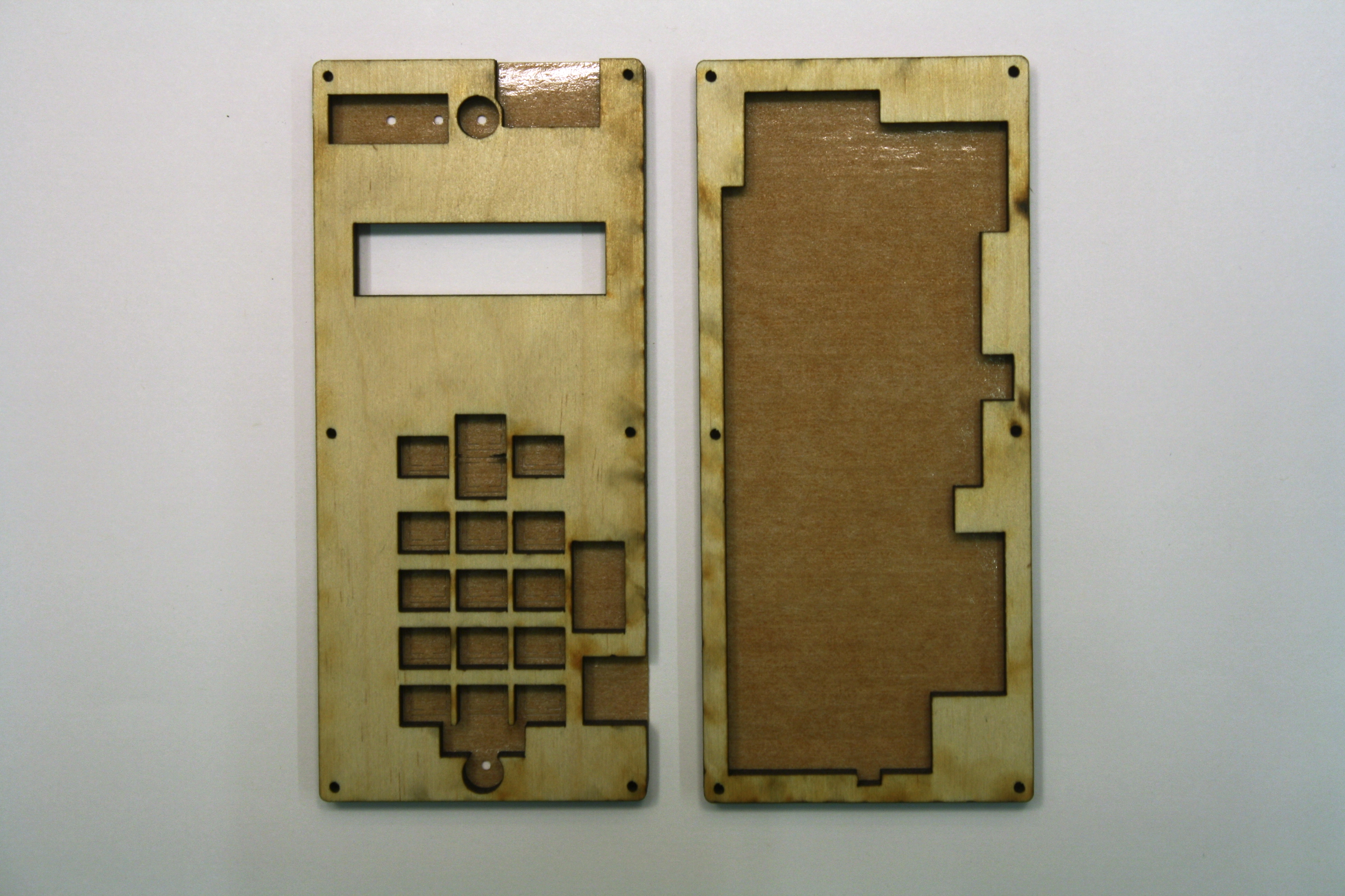 Picture of Laser-cut and Assemble the Enclosure.
