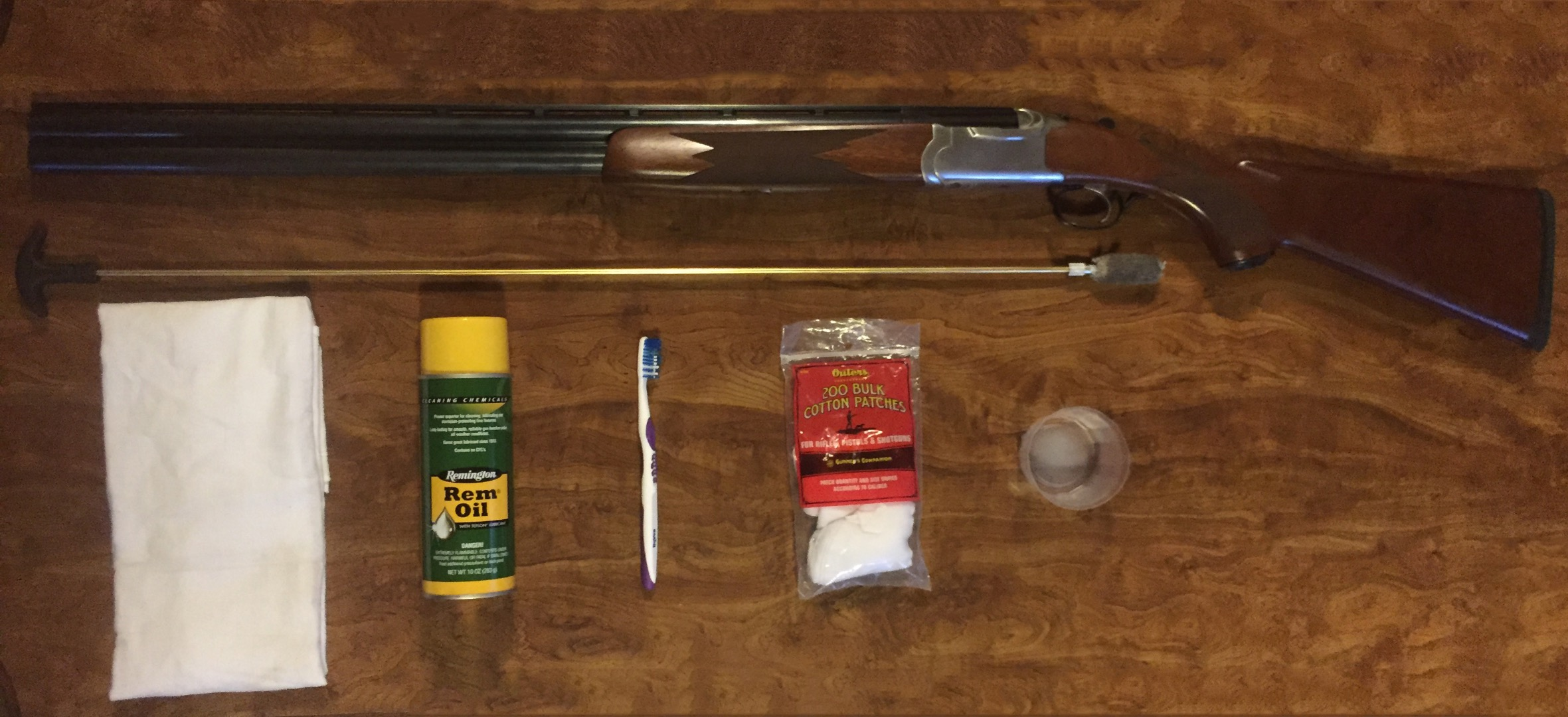 Picture of How to Clean a Ruger Red Label Shotgun