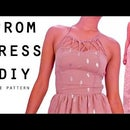 Strappy neck dress DIY || FREE PATTERN