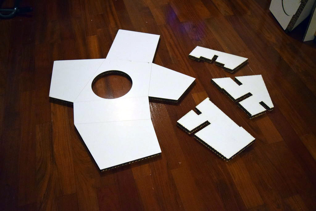 Picture of Lasercut the Hexacomb Cardboard