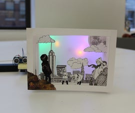 Tunnel Book with Arduino