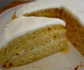 Moist Layered Lemon Cake