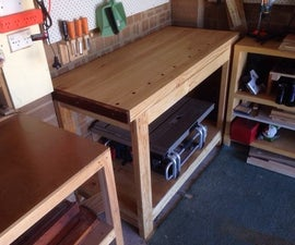 Carpenter's Workbench Build