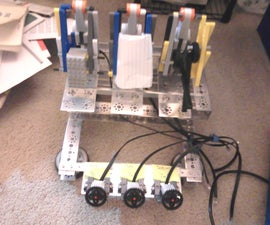 Self-Learning Rock - Paper - Scissors Robot from Lego Mindstorms NXT!