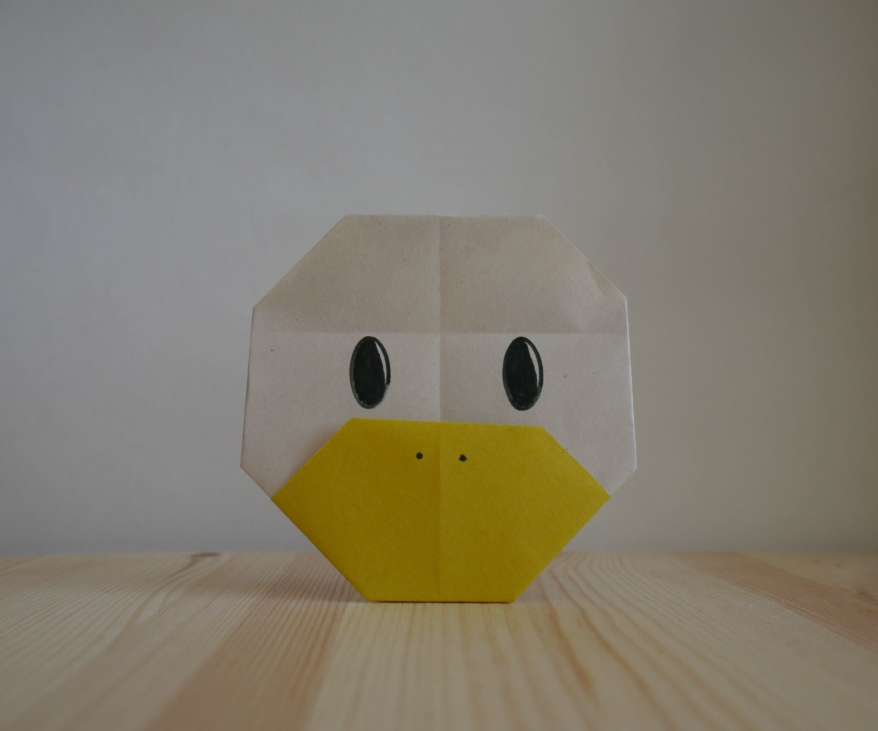 easy crafts ideas to make: origami duck tutorial | 1426x1711