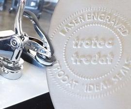 Laser Engraved Paper Seals