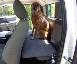 Dog Bench for Extended Cab Pickup