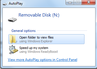 Picture of Adding Icons to Removable Drives