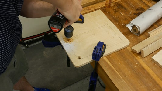 Cutting Out the Monitor Panel