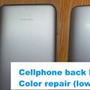 How to Remove White Spot From Cellphone Back Body
