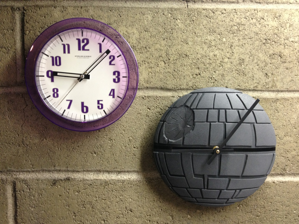 Picture of DIY Death Star Clock