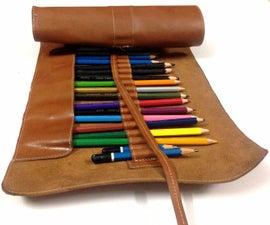 DIY Pencil Roll Case