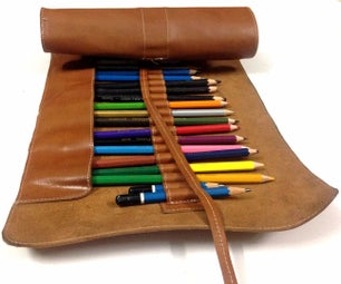 DIY Pencil Roll Case