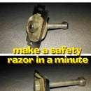 Make a Safety Razor in One Minute