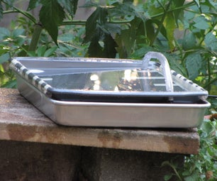 Solar powered hummingbird bird bath