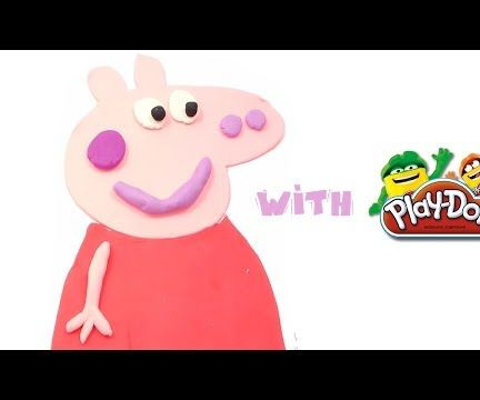 How to make Peppa Pig with Play-Doh