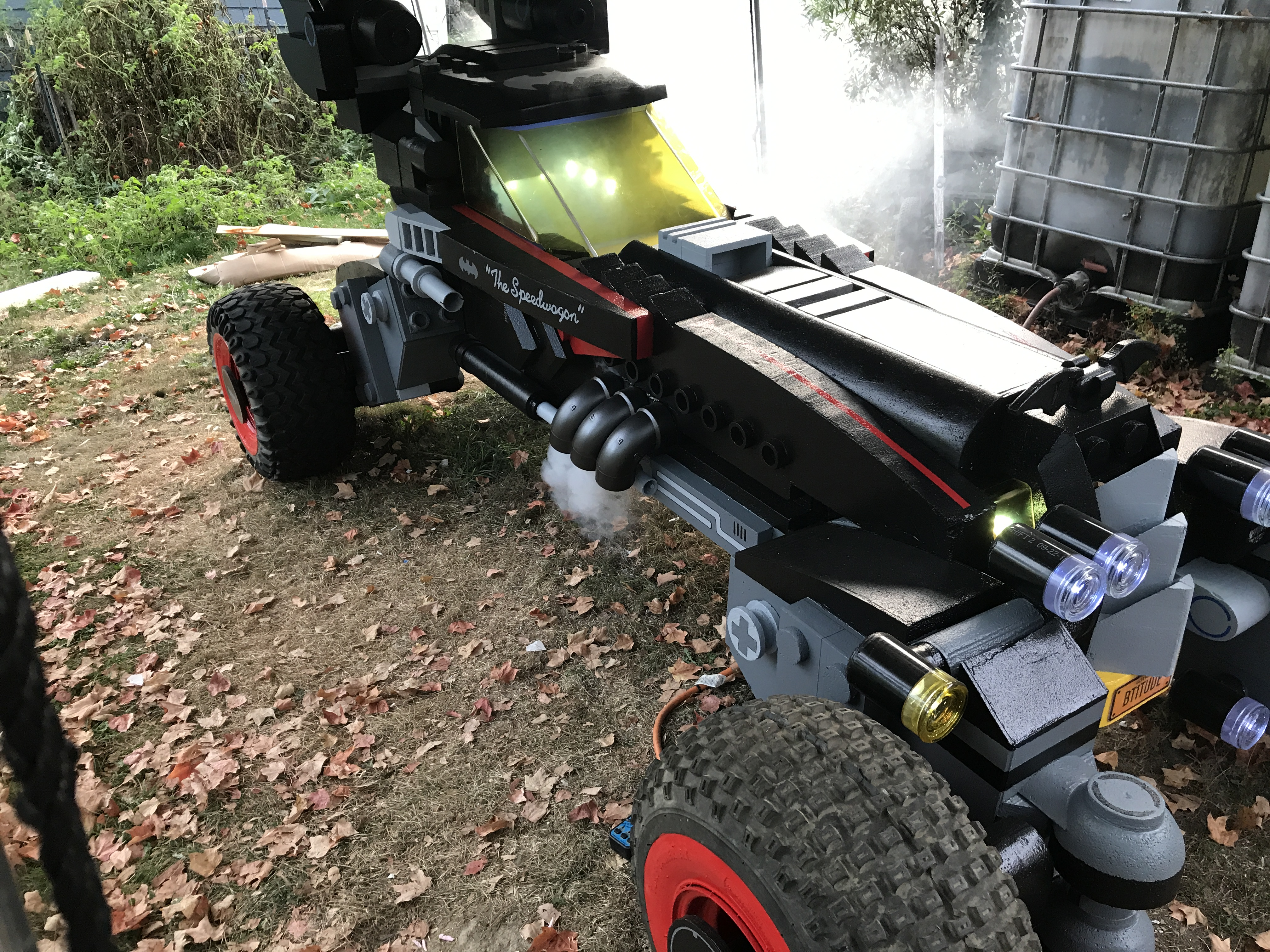 Picture of Life Size LEGO Batman Movie Batmobile