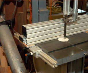 Make a Bandsaw Fence From Aluminum Extrusions